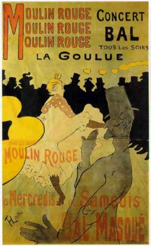 Poster boy … Toulouse-Lautrec artwork already in Canberra.