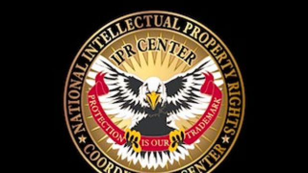 National Intellectual Property Rights Coordination Center logo.
