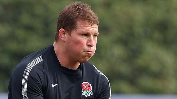 Banned ... Dylan Hartley.