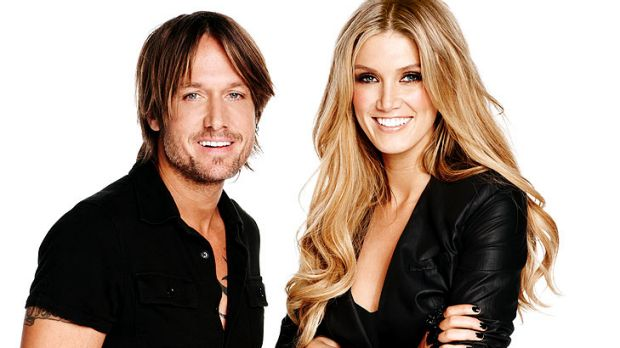 'I'm only here with the best intentions,' says Delta Goodrem (right), pictured with fellow <i>Voice</i> judge Keith Urban.