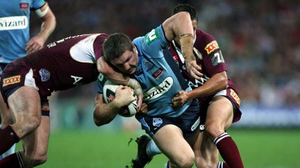 Past master … Melbourne second-rower Ryan Hoffman last represented NSW in 2008 before going to Wigan in the ...