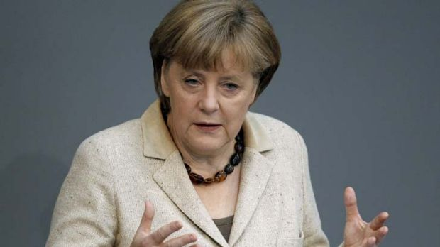 """Growth through debt would throw us back to the beginning of the crisis"" ... Angela Merkel tells France and Greece not ..."