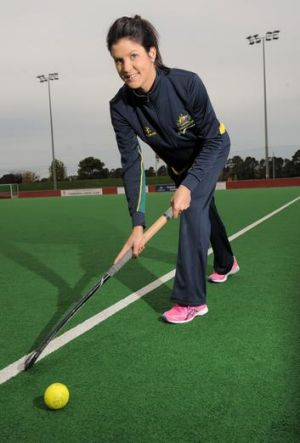 Hockeyroo Anna Flanagan is thrilled about making the Olympic team.