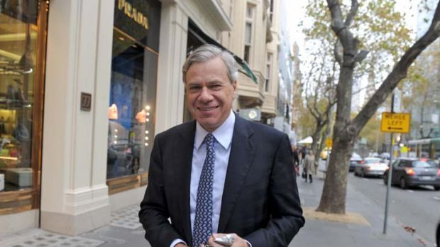 When mates fall out ... Michael Kroger has launched a broadside against his former friend, Peter Costello.