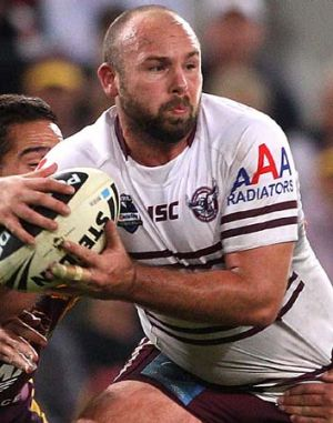 May be rubbed out for the Origin opener ... Glenn Stewart.