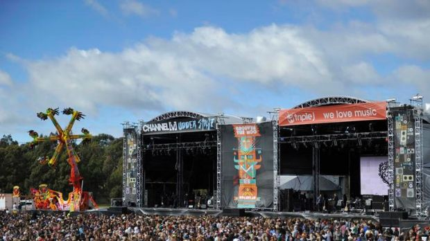 Scenes at Groovin The Moo Canberra.