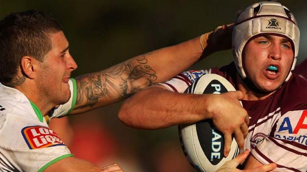 Understudy ... Jamie Buhrer of the Sea Eagles.