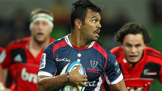 Both lucid and frugal ... Kurtley Beale has blossomed in the No.10 role.