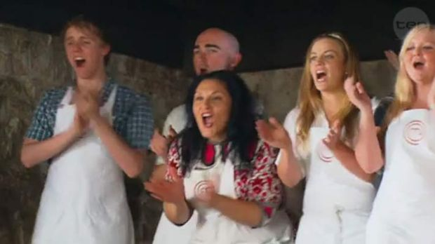 Easily excitable or gleefully gloating? ... MasterChef