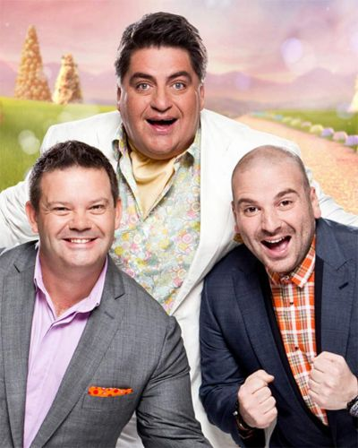 The MasterChef judges - Gary, Matt and George