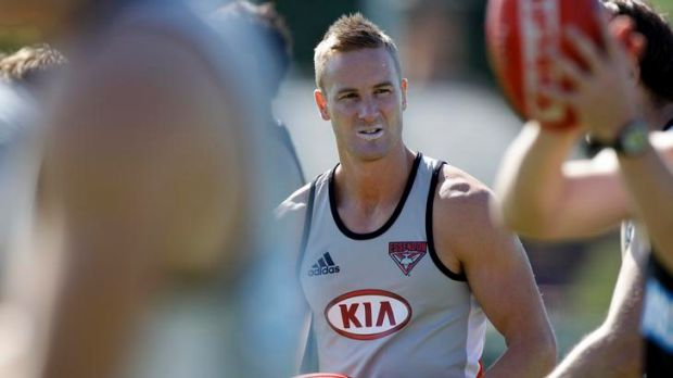 Setback: Essendon's Jason Winderlich will face another month on the sidelines.