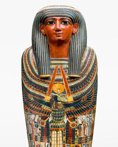 THE MUMMY COFFIN OF PADIASHAIKHET ? Egyptian, 725-700BC (early to mid 25th Dynasty) The museum?s founder, Sir Charles ...