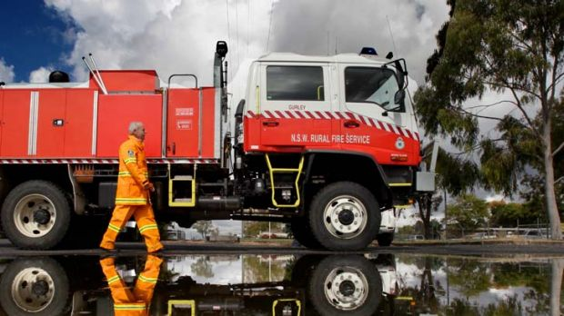 ''That was a big surprise'' ... Dr Tony Baxter-Tomkins, a rural fire service volunteer at Moree, found that the majority ...