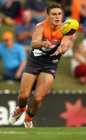 GWS's Stephen Coniglio  is this week's Rising Star nomination.
