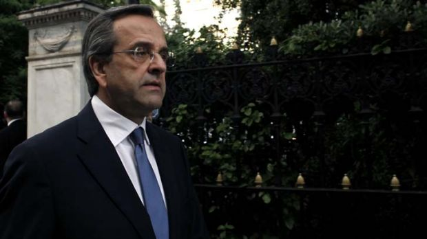 """It is absolutely necessary to have the broader support of political parties"" ... Antonis Samaras, New Democracy leader."