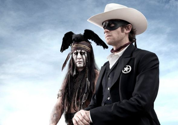 "Johnny Depp plays Tonto,  a spirit warrior on a personal quest, in the film ""Lone Ranger""."