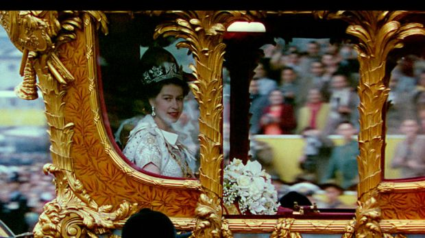 A still from the documentary <i>A Queen is Crowned</i>.
