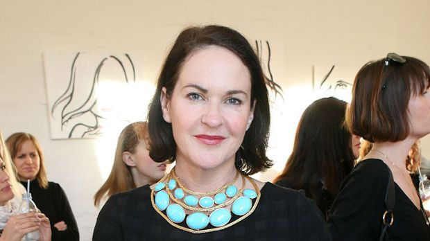 Out of Vogue ... outgoing Vogue Australia editor Kirstie Clements.