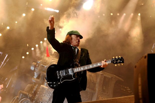 1. Angus Young of AC/DC.