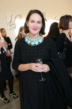 Not in <i>Vogue</i> ... Kirstie Clements was given her marching orders yesterday.