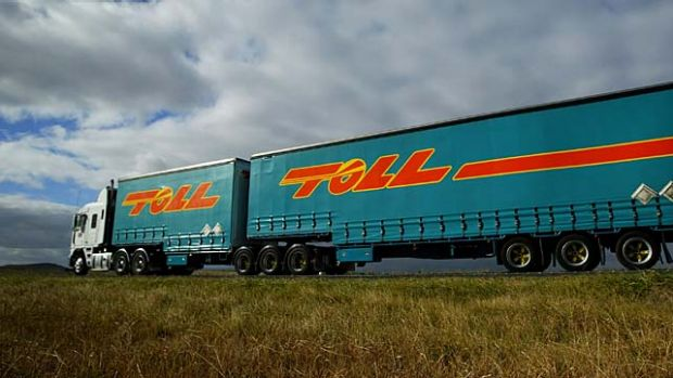 Toll Holdings may sell its struggling Footwork Express company.