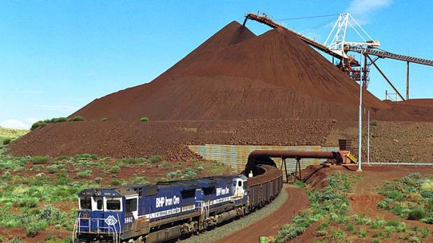 Mitsui says its iron ore projects in Western Australia are not expanding at their planned rate.