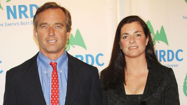 Robert F. Kennedy Jnr and then wife Mary Richardson Kennedy in New York City in 2008.