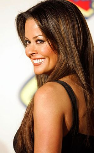 'Deceptive' ... Fellow celebrity Brooke Burke also endorsed the shoes.