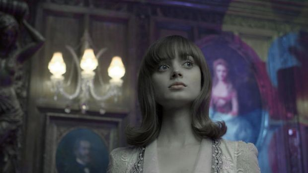 Bella Heathcote is the object of Johnny Depp's affections in <i>Dark Shadows</i>.