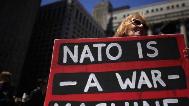 Getting the message out … in the lead-up to the NATO meeting in Chicago protesters made their feelings apparent. ...