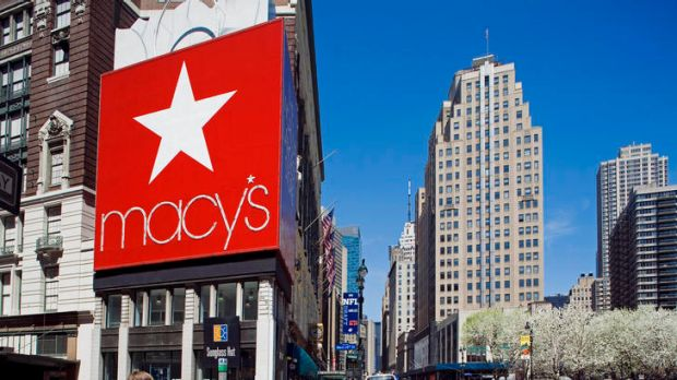 Macy's ... keeping its chain of stores but also embracing the internet.