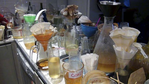 Police have warned of the extensive dangers of improvised drug manufacture sites.