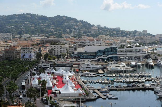 General view of the venue at the 65th international film festival, in Cannes, southern France