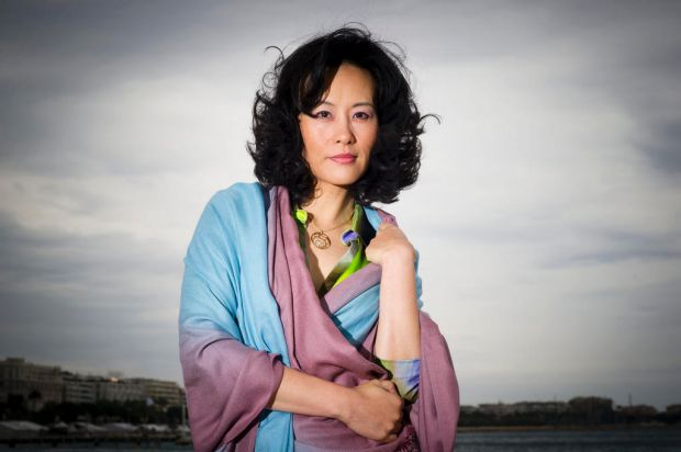 Actress Vivian Wu poses for portraits for the film To Forgive at the 65th international film festival, in Cannes, ...