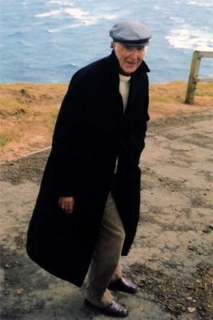 Bill Staff on holiday in New Zealand in 2005.