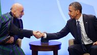 Obama: Afghanistan on the right track (Video Thumbnail)