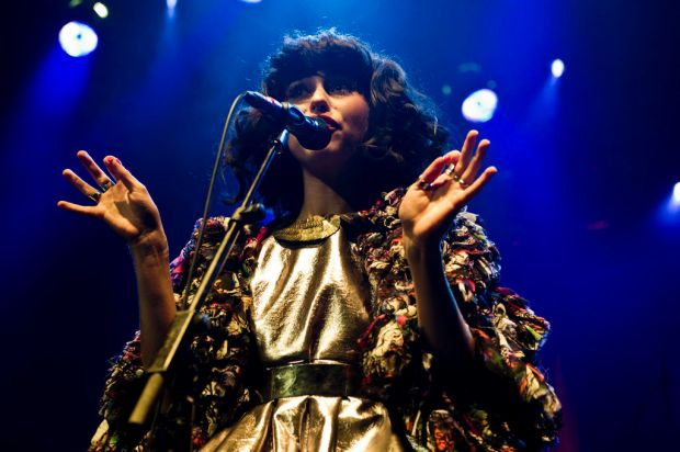 Kimbra performs at the Enmore Theatre, May 17, 2012.
