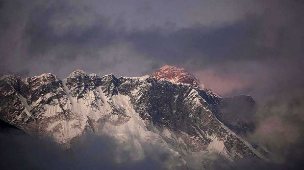 Everest ... The area above the last camp at the South Col is nicknamed the ''death zone'' because of the steep icy ...