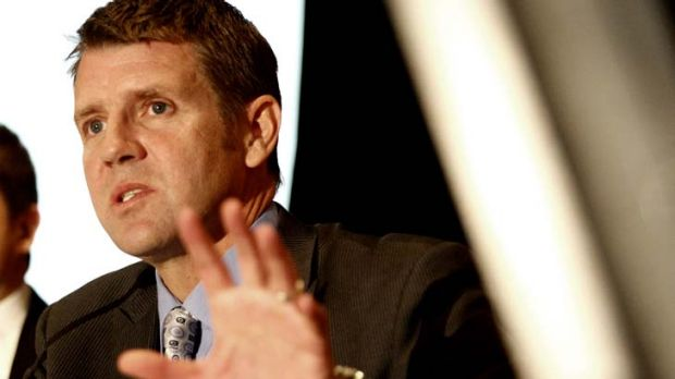 Rejected claims ... NSW Treasurer Mike Baird.