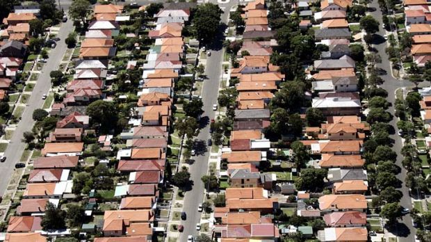 Threatened ... the high dollar and percieved job security may see housing prices set to rise.