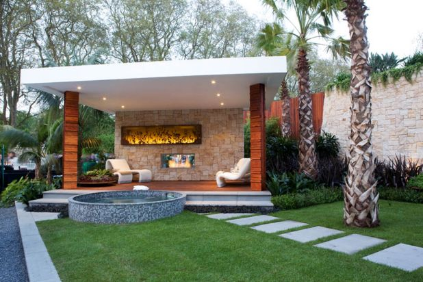 The Trailfinder's Australian Garden, desgned by landscaper and TV presenter Jason Hodges, has been awarded a silver ...