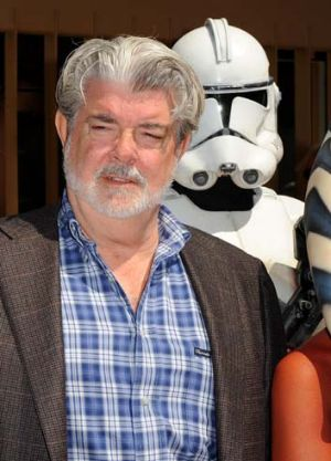 Creative consultant ... Director/producer George Lucas