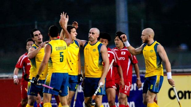 Rise and shine ... The Kookaburras will have to wake up at 5.30am to play games at 8.30am, much to the ire of coach Ric ...