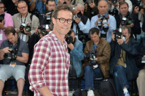 """Australian actor Guy Pearce poses during the photocall of """"Lawless""""."""