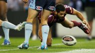 State of Origin mired over controversial try (Video Thumbnail)