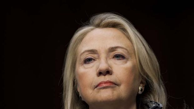 US Secretary of State Hillary Clinton ... Assad will have to go.