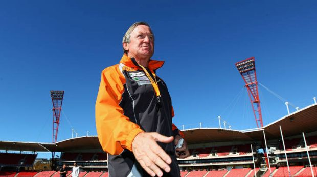 The Giants will play their first match at Skoda Stadium this weekend, where coach Kevin Sheedy will take on the club ...