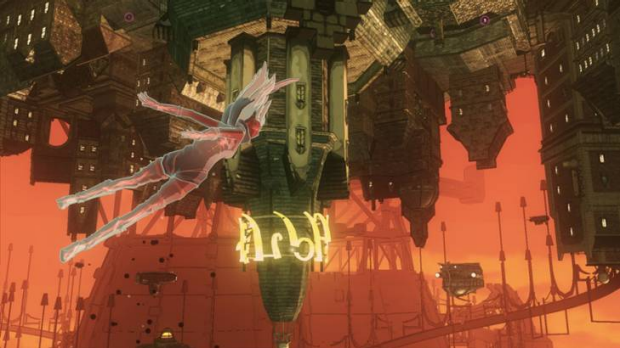 Gravity Rush - Falling has never been this much fun.