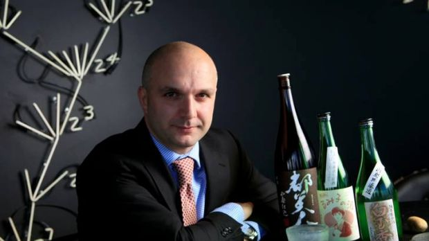 Rocco Esposito of Vue de Monde is one of many sommeliers falling in love with Japan's national drink.