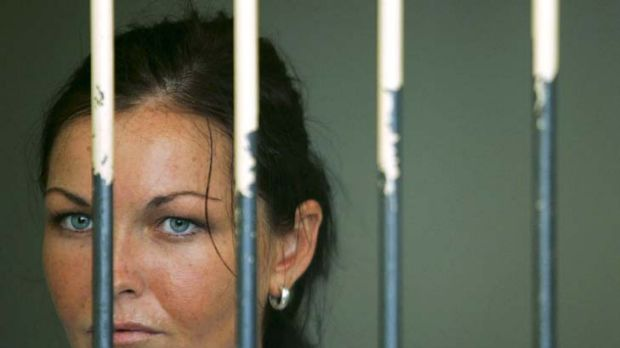 Convicted cannabis smuggler ... Schapelle Corby.